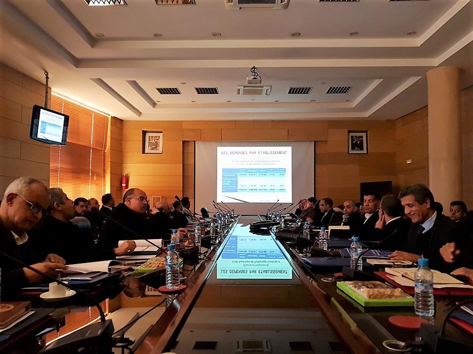 جامعة ابن زهر تعقد الاجتماع الأول لمجلسها في مدته الانتدابية الجديدة